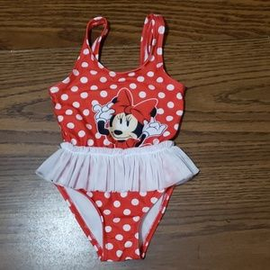 Minnie mouse baby swim suit